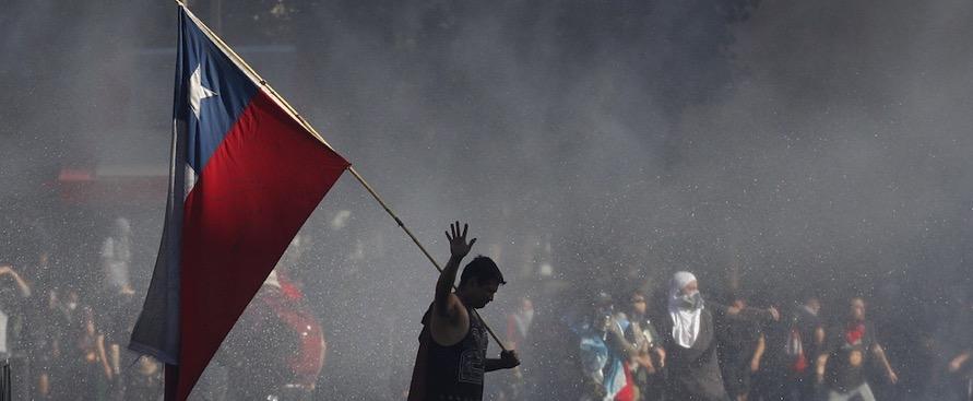 Rivolta Libertà Cile Piñera